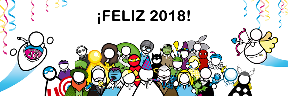 Feliz 2018 con Suop Mobile