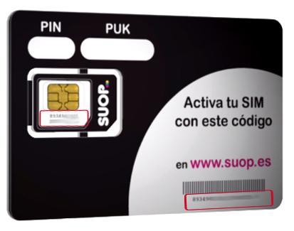 ICC Tarjeta SIM