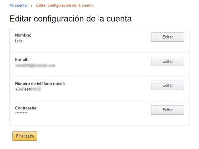 Perfil Amazon