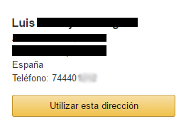Envío Amazon