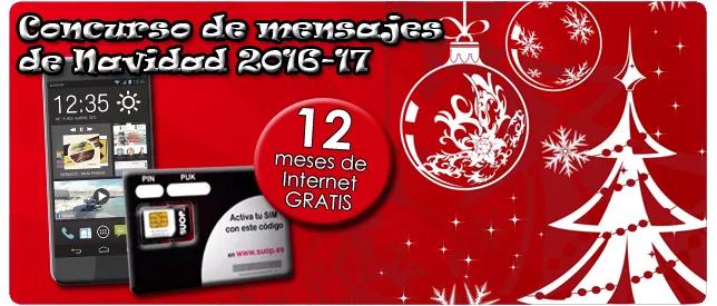 Concurso mensajes de Navidad