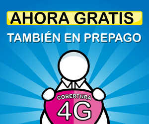 Cobertura 4G gratis en prepago