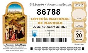Loteria Navidad Suop 2020