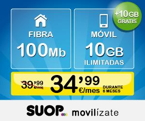 Fibra 100Mb 10GB ilimitadas